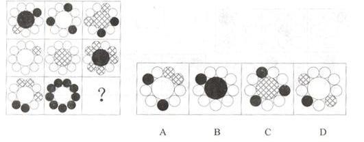 行测真题之判断推理图形推理典型例题精讲(19)